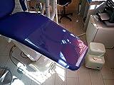 2pcs Dental Chair Unit Foot Mat Cushion Pad Dustproof Toe Cover Plastic Protector Washable