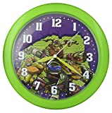Teenage Mutant Ninja Turtles 10'' Wall Clock - Play Room Clock