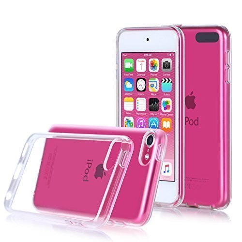 Price comparison product image iPod Touch 6 & 5 Case, Asstar [CLEAR SLIM] High Quality Soft TPU Bumper Case Shockproof Cover for 6th Generation_2015 Released (Clear)