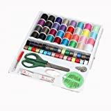 KingSo® 100PC Sewing sets sewing kit thread scissor needles tape measure ...
