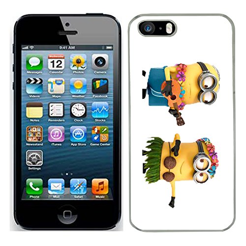 Despicable Me Moi moche et méchant Film Minions cas adapte iphone 5s couverture coque rigide de protection (14) case pour la apple i phone 5 s cover Skin