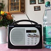 Pure Evoke Mio VL-61627 Tragbares Radio (DAB/DAB+/UKW