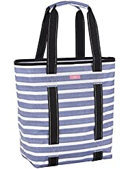 SCOUT Fit Kit Gym Tote Bag, Elastic Band Fits Yoga Mat or Towel, Water Resistant, Zips Closed