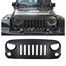 Opar Optimus Front Grille for 07-17 Jeep Wrangler & Wrangler Unlimited JK