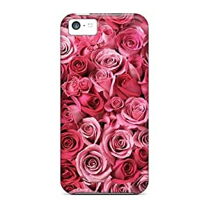 High-end Case Cover Protector For Iphone 5c(spirals Of Love)