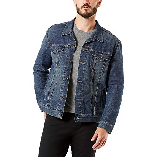 - Signature by Levi Strauss & Co Men's Signature Trucker Jacket, Elvis, XL