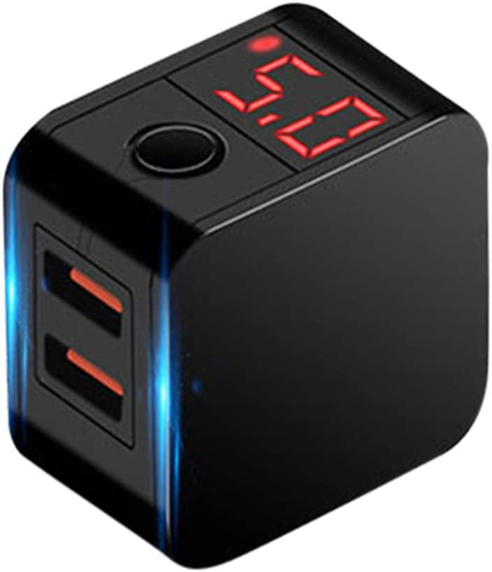 Jonerytime/_LED Display Intelligent Fast Charging Head Power Adapter Automatic Power-Off