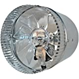 """Suncourt -- Inductor 6"""" In-Line Duct Fan (DB206P)"""
