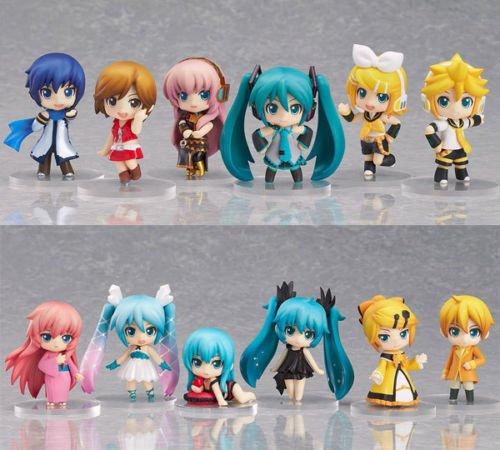 Alice The Goon Costume (Ggtop 12x Anime Vocaloid Miku Cute PVC Figure Model Toy Xmas Gift New NO Box)