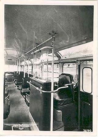 Amazon 1950 Chausson Bus Interior Factory Photo Entertainment