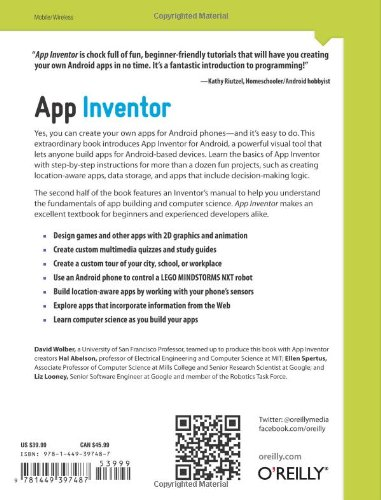 Buy App Inventor Book Online at Low Prices in India | App