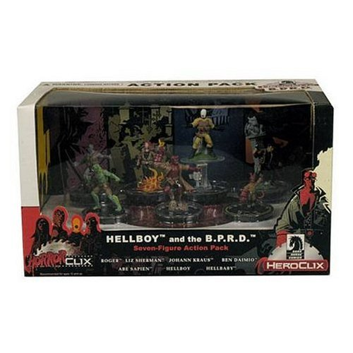 Dark Horse HorrorClix/ Heroclix Hellboy and the B.P.R.D. Action Pack