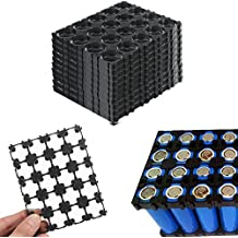 (Pack of 10) 4x5 Cell 18650 Battery Batteries Spacer Radiating Shell Plastic Holder Bracket 18.4mm (without battery)