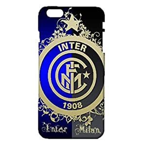 3D Milano Logo Phone Case for IPhone 6 Plus/6s Plus 5.5 Inch Hot Design Serie A 3D Inter Milano FCM Logo Cover Case Fit IPhone 6 Plus/6s Plus 5.5 Inch