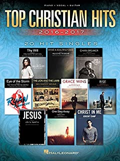 The giant book of christian sheet music pianovocalguitar the top christian hits 2016 2017 20 hit singles fandeluxe Images