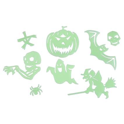 Amazon.com: Luminous Wall Sticker, Halloween Glow In The Dark ...