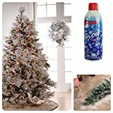 Prextex Christmas Artificial Snow Spray Pack of Two