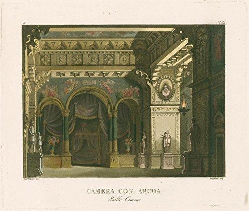 f57e1930f8966 Camera con Arcoa. Ballo Cimene. Castellini inc. Biasioli acq.  After a