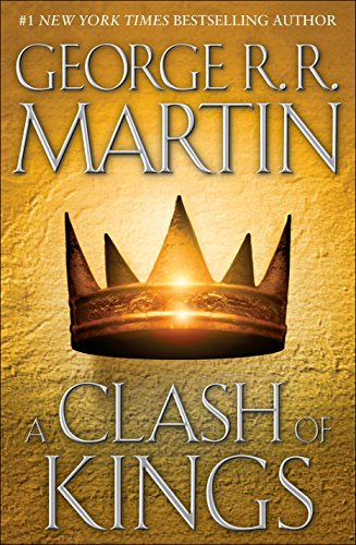 Book cover from A Clash of Kings (A Song of Ice and Fire, Book 2) by George R. R. Martin