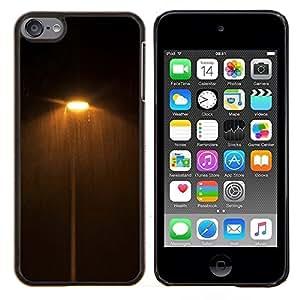 - dark night lights street yellow warm - - Modelo de la piel protectora de la cubierta del caso FOR Apple iPod Touch 6 6th Generation RetroCandy