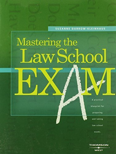 Mastering the Law School Exam (Career Guides) by Suzanne Darrow-Kleinhaus (2006-11-10)