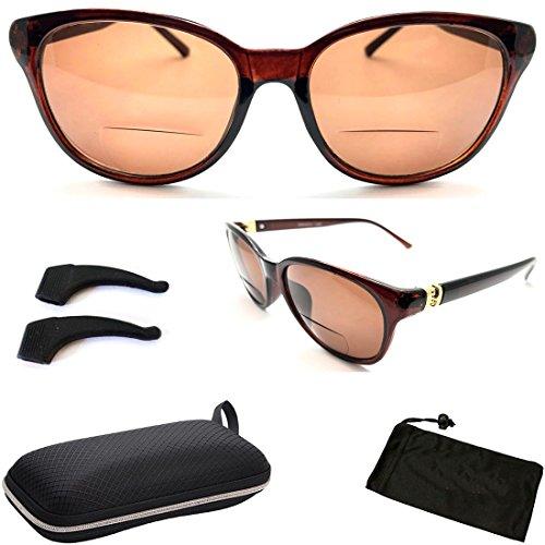 Premium Black Rectangular Shape Magnification Strength Sun (Rectangular Shapes)