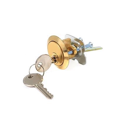 Repuesto de cilindro Yale para cerradura de puerta, incluye llave, compatible con cerrojos de