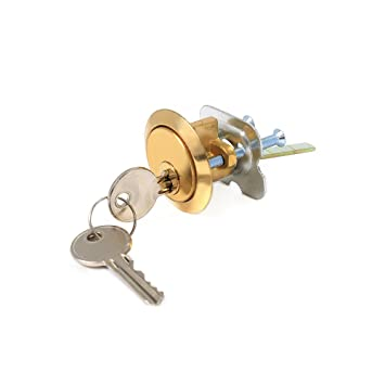 Repuesto de cilindro Yale para cerradura de puerta, incluye llave, compatible con cerrojos de cualquier marca Material: Latón.: Amazon.es: Bricolaje y ...