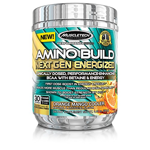 MuscleTech Energized Formula Energy Orange
