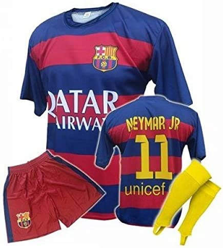 Uniforme FC Barcelona Equipo de fútbol Replica Neymar JR ...