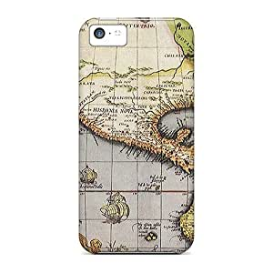 Faddish Phone Old Map 4 Case For Iphone 5c / Perfect Case Cover