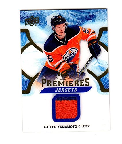 2017-18 Upper Deck Ice Kailer Yamamoto #IPJ-KY NM Near Mint MEM from Ice
