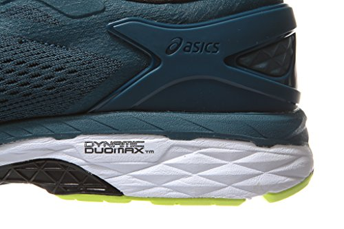 Running Yellow Shoe Men Kayano Blue 11 24 Black Ink Size Gel ASICS Safety Ixwvx