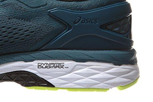 24 Safety Ink Blue Black Kayano 10 Shoe Running Gel Size ASICS Men Yellow qtwzZS