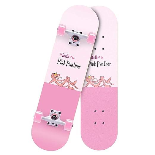 DUWEN-Skateboard Patinete Patinete Patinete de Cuatro Ruedas ...