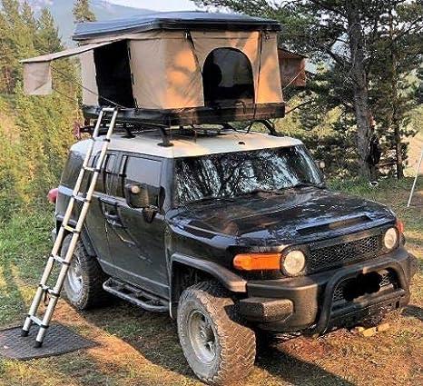 Ratel - Tienda de campaña para Techo de Camping de 1,52 cm de Ancho x 22,86 cm de Largo x 101,6 cm de Alto: Amazon.es: Coche y moto