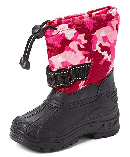 SkaDoo Cold Weather Snow Boot (Toddler/Little Kid/Big Kid) Many Colors Pink Camo