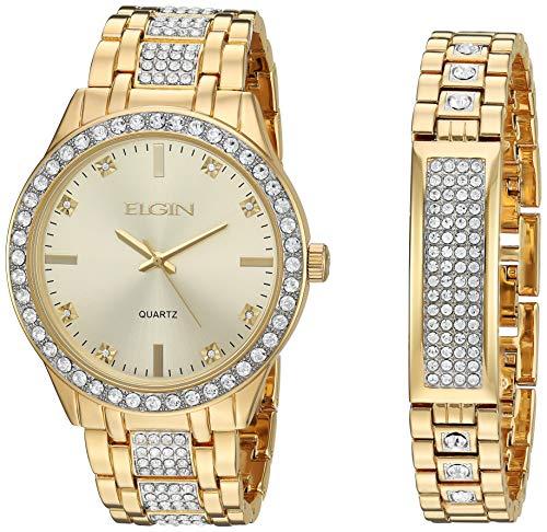 - Elgin Fashion Watch (Model: FG160016GTST)