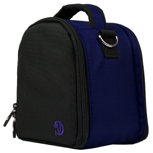 Laurel DSLR Camera Handbag for Canon SLR & Compact System Cameras, Dark Blue