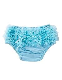 Baby Infant Girl Bowknot Ruffle Bloomer Underwear Panty