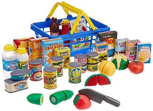 Grocery Store Toys (Small World Toys Living -Get to the Grocer Shopping Basket Playset)