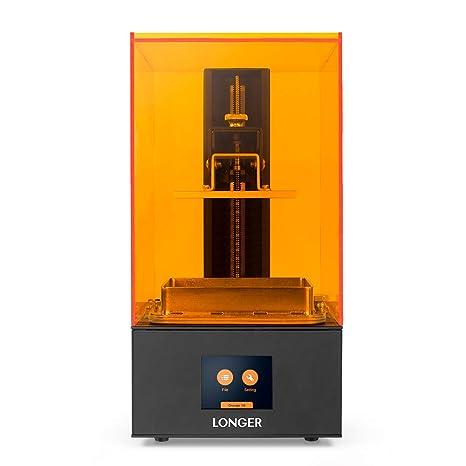 Impresora 3D Long Orange 10, resina SLA 3D con iluminación LED ...