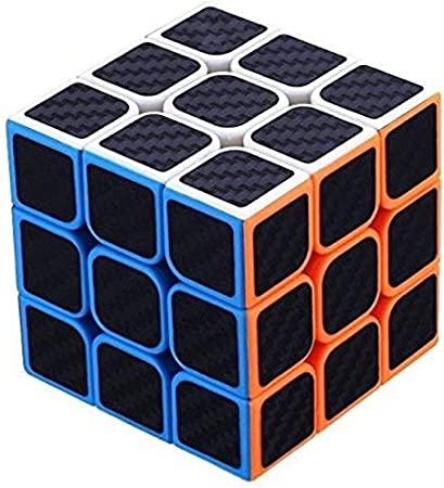 mke High Speed 3x3 Neon Colors Magic 3D Rubik Cube Puzzle