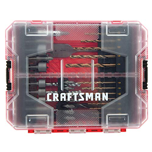 CRAFTSMAN Drill Bit Set, 60 Pieces (CMAF1260)
