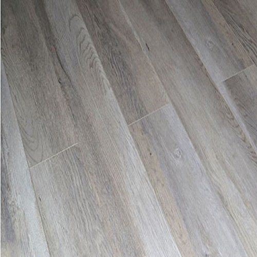 Dekorman 9403A 12mm AC4 CARB2 Premium Collection Laminate Flooring-Light Ash Oak, Gray