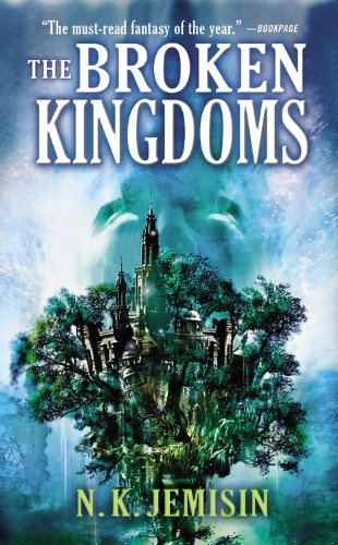 Book cover from The Broken Kingdoms (The Inheritance Trilogy) by N. K. Jemisin