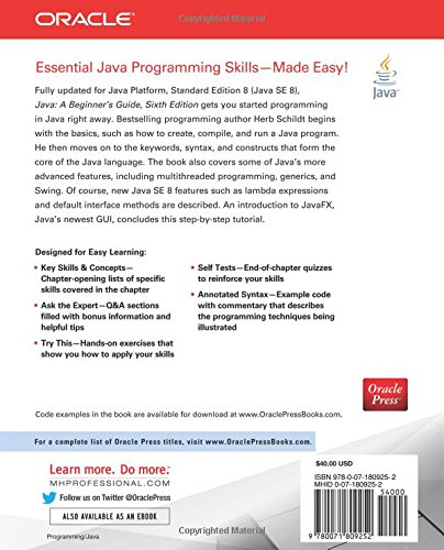 java a beginner s guide sixth edition amazon co uk herbert