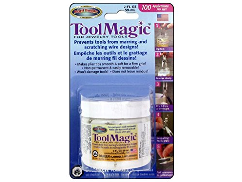 Tool Magic - Rubber Coating for Jewelry Tools 2 fl oz - Magic Tool