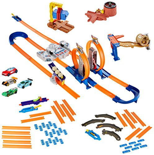 Hot Wheels Track Builder System Mega Set