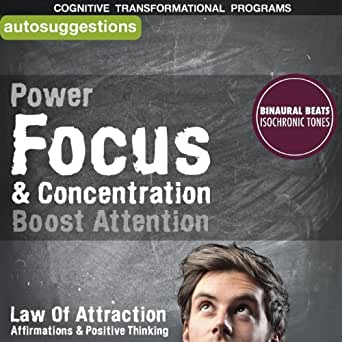 Power Focus & Concentration, Boost Attention
